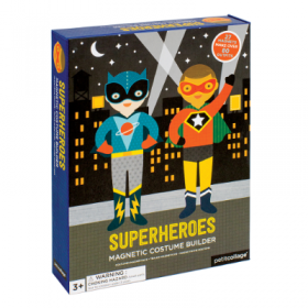 Superheroes Magnetic Dress-Up MDU-SUPERHEROES